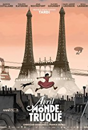 April and the Extraordinary World (2015 )