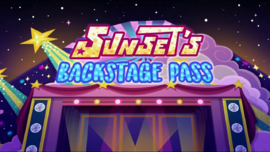 My Little Pony Equestria Girls: Sunset's Backstage Pass (2019)