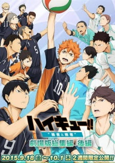 Haikyuu!! Movie 2: Shousha to Haisha Sub (2015)